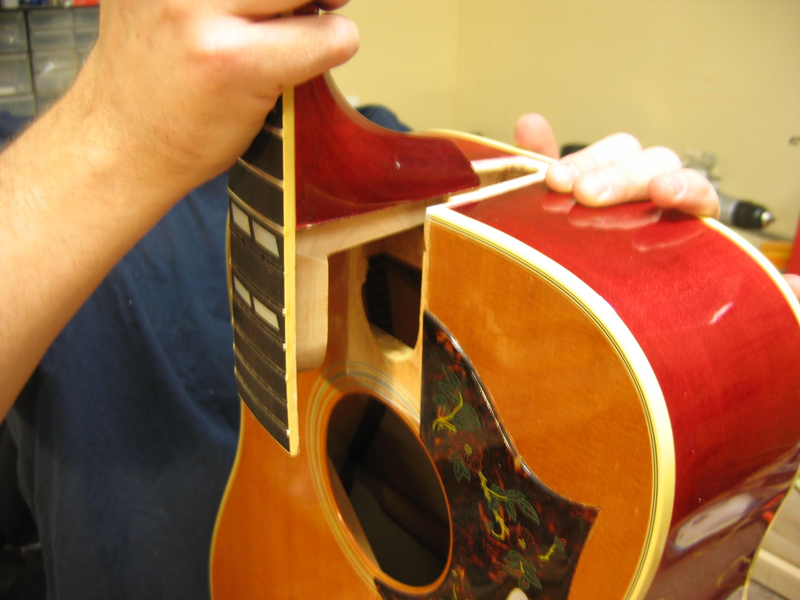 Neck Resets Guitaror