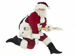 Santa Loves Guitar